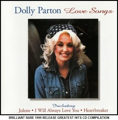 Dolly Parton Very Best Greatest Ballad Hits Collection 70's Country Music CD