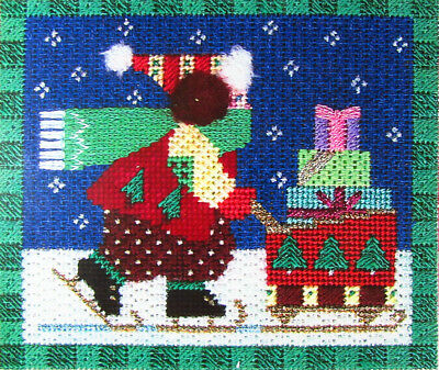 HP Needlepoint 18ct SHELLY TRIBBY DESIGNS Pointers w Stitch Guide-ML119