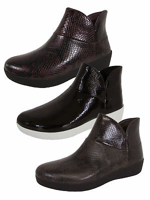 4434d1ea0c8b FITFLOP WOMENS SUPERMOD Leather Ankle Boot II Shoes -  99.99