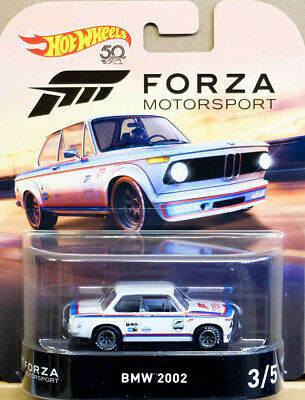 BMW 2002 Forza 3/5 Retro Entertainment 1:64 Hot Wheels FLD21 DMC55
