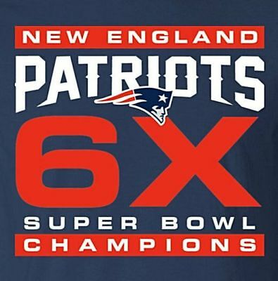 2cb9b62c3a WHITE 6X CHAMPS New England Patriots Football Sport Patch Logo Iron ...
