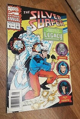 SILVER SURFER ANNUAL 6 (VOL3) 1993. 1st LEGACY Genis-Vell UNSEALED Marvel