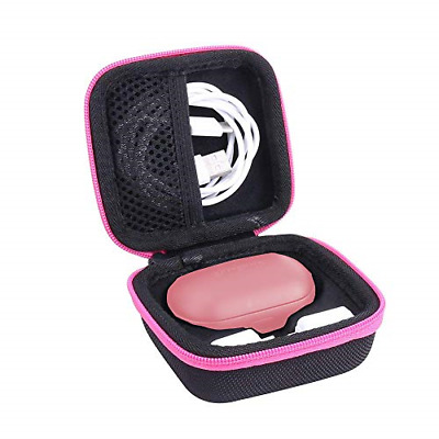 Hard Storage Case for Samsung Gear IconX2018 Edition Bluetooth Earbuds by Pink