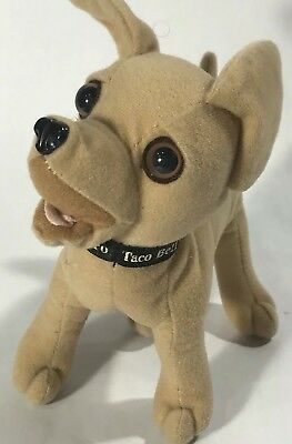 Taco Bell Plush Chihuahua Dog Stuffed Animal Yo Quiero Talking Doll