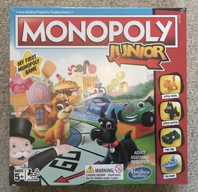 Monopoly Junior My First Monopoly 2018 Version Hasbro Board Game. Age 5+. NEW