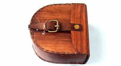 1917 LEATHER CASE ~ MARITIME~~NAUTICAL gift item Only For Lather Cover
