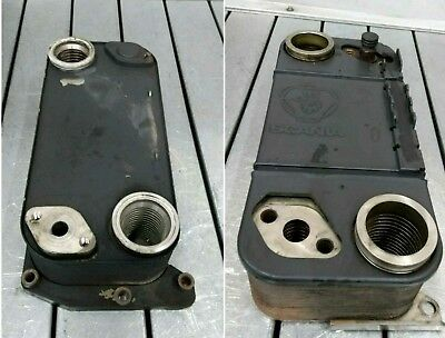 Scania Intarder Oil Cooler 1804210 Old And New Type
