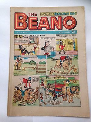 DC Thompson THE BEANO Comic. Issue 1568 August 5th 1972 **FREE UK POSTAGE**