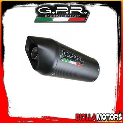 Kit Auspuff Gpr Ducati Monster 750 750Cc 2001-2003 Approved Furore Carbon Oval D