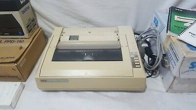 brother ppd110, disk drive fb100 and dot matrix  printer nec p6 all tested