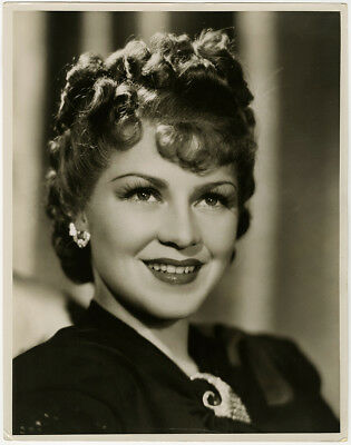 Claire Trevor in Big Town Girl 1937 Vintage Large Glamour Portrait Photograph