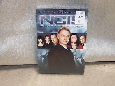 NCIS The Complete Second Season (DVD, 2006, Multi-Disc Set) Brand New Sealed