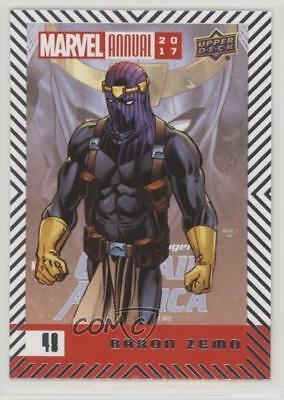 2017 Upper Deck Marvel Annual Baron Zemo #48 2a1