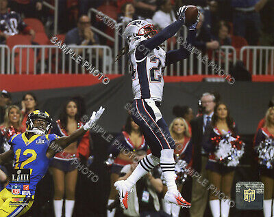 Stephon Gilmore New England Patriots 2018-2019 Super Bowl 53 Champs 8X10 Photo