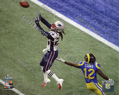 Stephon Gilmore New England Patriots 2018-2019 Super Bowl 53 Champs 8X10 Photo 2