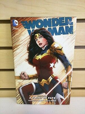 Wonder Woman Vol 8 A Twist of Fate Hardcover - Pre-Owned DC Comics HC