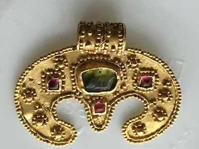 Ancient amulet of the moon, Scythians, 1-2 century AD