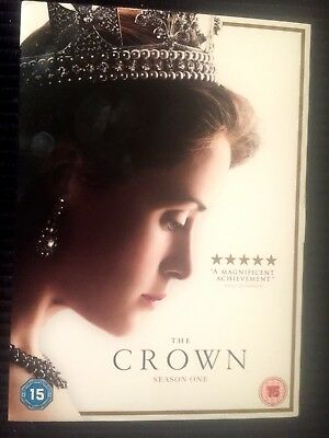 THE CROWN SEASON 1 DVD Brand New & Sealed UK Free Postage