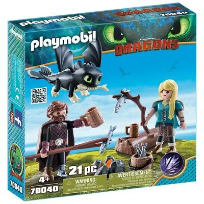 Playmobil DreamWorks How to Train your Dragons Hiccup and Astrid