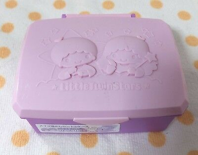 NEW Sanrio Little Twin Stars Makeup Remover Case Approximately 105 x 80 x 35 mm