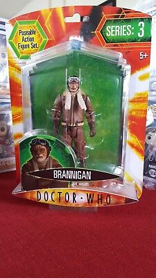 DOCTOR WHO Action Figure- BRANNIGAN (by Character Options Ltd.)