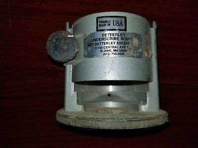 Betterley Underscribe Router base only for poter cable  Art Betterley  60001