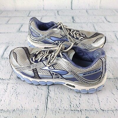 9bf14dedb79 Mens Brooks DNA Trance 10 Running Jogging Shoes Blue Silver 11