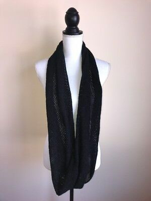 Steve Madden Chunky Knit Cozy Cabin Spacedyed Infinity Loop Scarf Neutral #6381
