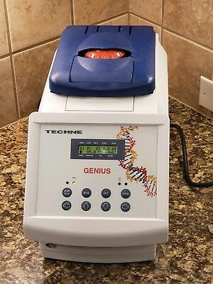 Techne Genius FGEN02TP Thermal Cycler heater pcr with 40 tube sample well block