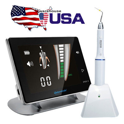 Dental Obturation Pen ENDO Heated System w/Tips + Apex Locator Woodpecker RPEX 6