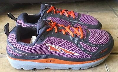 sports shoes 0514a 07c70 Altra Paradigm 3.0 Purple Orange Grey Running Shoes Women Size 9.5