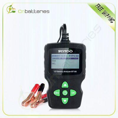 6V-18V LCD Vehicle Car Digital Battery Test Analyzer Diagnostic Tool New BT100