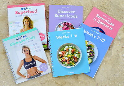 💛Bodyboss Fitness Guide and Nutrition Ultimate Collection *SAME DAY DELIVERY*