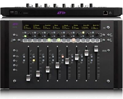 3 x Avid Artist Mix 8 Fader Control Surfaces 24 Faders for Pro Tools