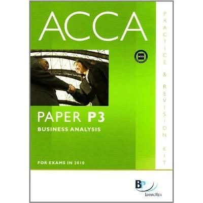 ACCA - P3 Business Analysis: Revision Kit BPP Learning Media