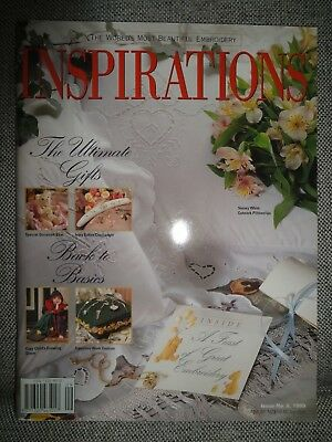 Inspirations Magazine - Embroidery Issue 9 includes patterns