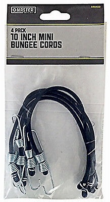 TRADE OF AMTA INC DBA BOXER TOOLS 4-Pack 10-Inch Mini Bungee Cords MM33