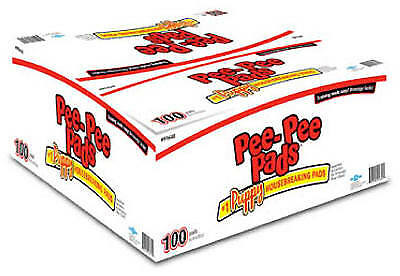 JODI INTERNATIONAL/FOURPAWS Pee-Pee Pads, 100-Pack 100519823