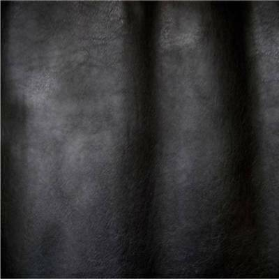 Leatherette Black faux leather look vinyl upholstery fabric material 140cm wide