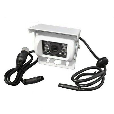White CCD reversing camera for motorhomes and caravans