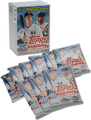 2019 Topps Baseball Series 1 Factory Sealed 9 Pack Fanatics Exclusive Value Box