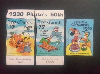 Unmounted Mint Togo 1496 Never Hinged 1980 Pluto Of Walt-disn complete Issue