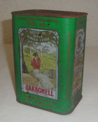 Huile d'olive CARBONELL vierge extra en 1 litre  Collector