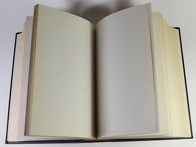 VINTAGE Hardcover Bound Blank Book - Journal - Unique - 100s of pages