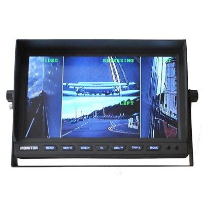 10 inch colour quad screen rear view monitor