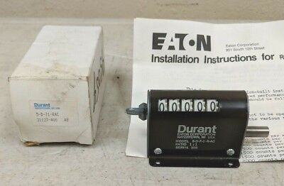 *new In Box* Eaton / Durant Rotary Counter 5-D-7-1-R-Ac      5D71Rac
