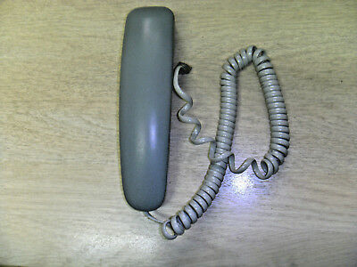 Replacement Handset receiver Curly Cable RJ11 Panasonic FAX Phone Grey telephone