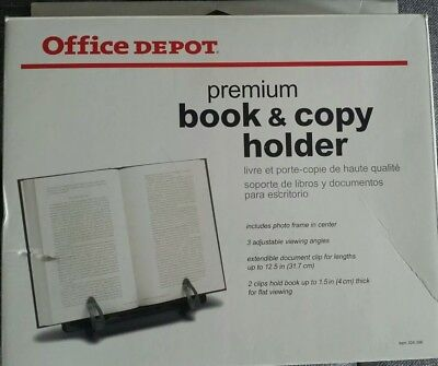 Office Depot® Brand Book And Copy Holder, Black