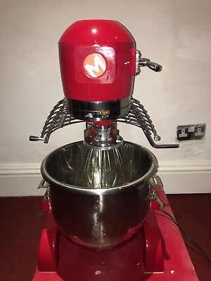 20 Litre Planetary Food and Dough Mixer Master Mix MM20-RED