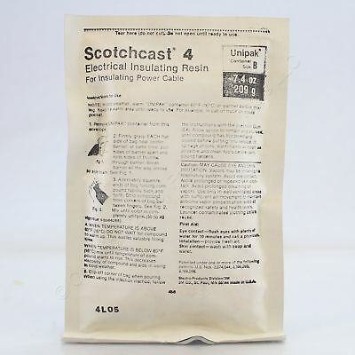 New 3M Scotchcast Electrical Resin for Insulating Power Cable 7.4oz 4-B Boxed